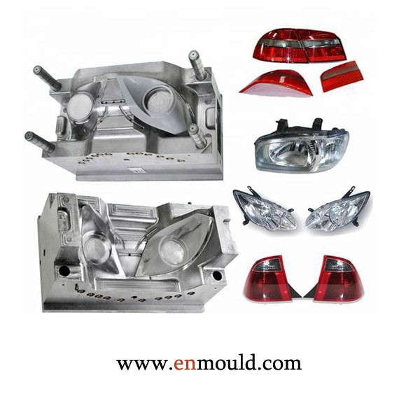 Custom Auto Led Lamp Housing Car Light Injection Mold