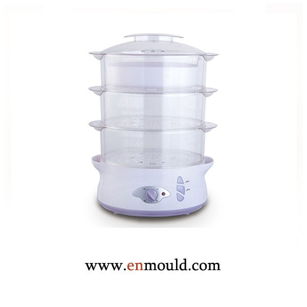 Food steamer plastic parts