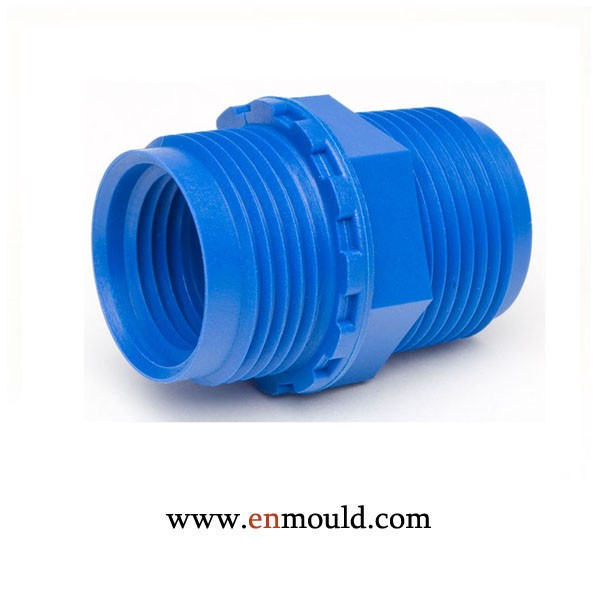 Plastic injection mould joint pipe fitting mold