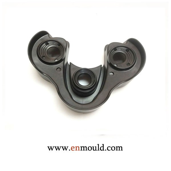 Top Cover Injection Molded Plastic Parts PC Plastic Injection Mold Tooling
