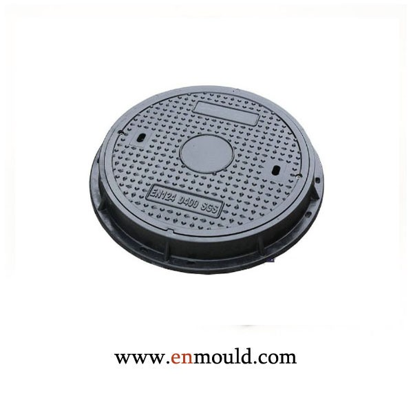 PA6 30%GF Manhole cover plastic injection moulding