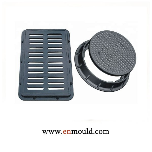 High Load-Bearing cold-resistant Round Square Plastic Manhole Cover Mould