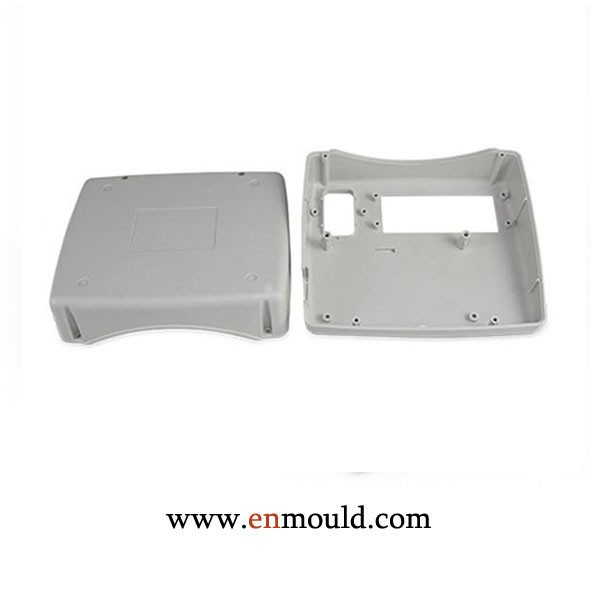 Injection molded medical device enclosures